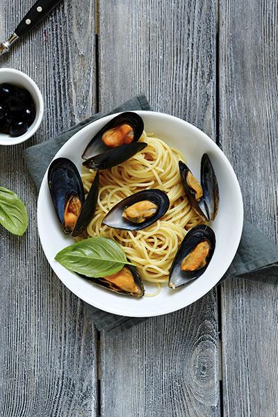 Mussel Spaghetti