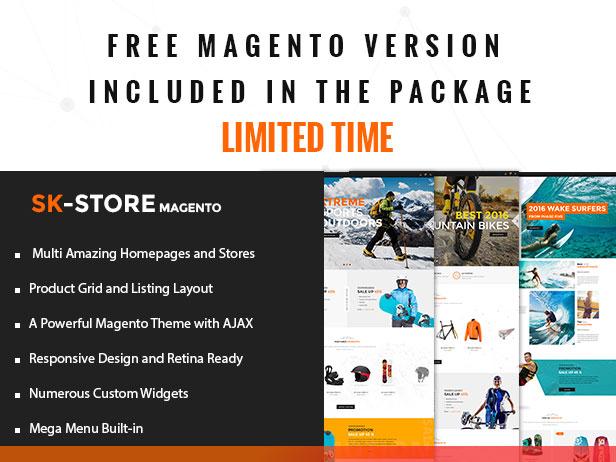 sunrisetheme skstore free Magento